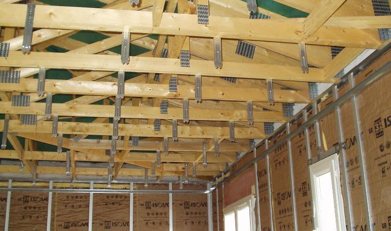 Plafond - suspentes