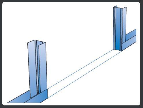 Rails et blocs porte