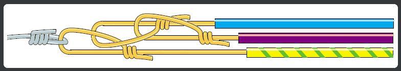 passage de cables dans les gaines